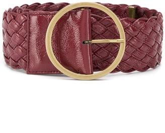 Philosophy di Lorenzo Serafini Woven Leather Belt