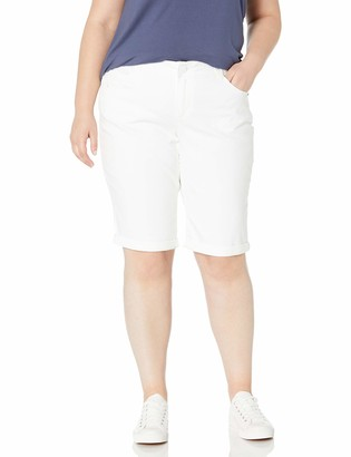 Democracy Women's Plus Size Ab Solution Bermuda Short