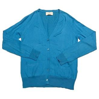 Allude Blue Cotton Knitwear for Women