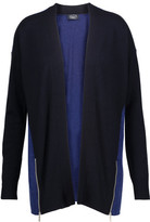 Magaschoni Two-Tone Cashmere Cardigan