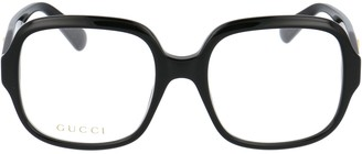 Gucci Oversized Square Frame Glasses