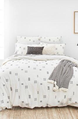 Splendid Home Decor Crosshatched Duvet Cover & Sham Set