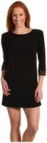 Laundry by Shelli Segal - Solid Matte 3/4 Sleeve Jersey Dress