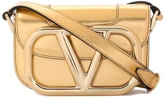 Valentino VLOGO metallic shoulder bag