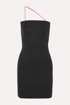 Gauge81 GAUGE81 - Miami Stretch-crepe Mini Dress - Anthracite