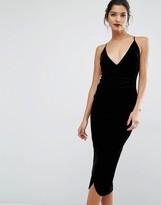 Bec & Bridge Midnight Sage Midi Dress