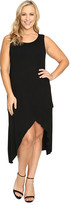 Culture Phit Plus Size Flynne Sleeveless Cross-Bottom Dress