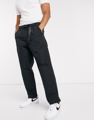 Levi's Stay Loose Climber hiker trousers tab belt in black