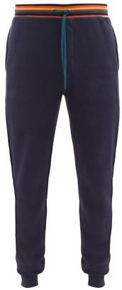 Paul Smith Striped-waistband Cotton Pyjama Trousers - Navy