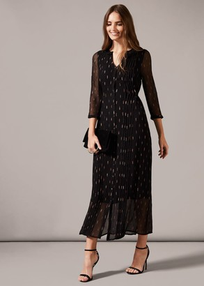 Phase Eight Sparkle Shirt Maxi Dress
