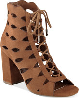 GUESS Women's Owina Cutout Lace-Up Dress Sandals