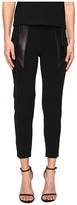 Neil Barrett Thunderbolt Cady Stretch + Nappa Plonge' Women's Casual Pants