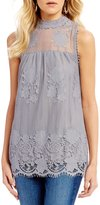 Miss Chievous High Neck Lace Tank Top