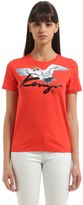 Kenzo T-Shirt En Jersey De Coton Impr