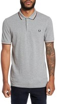 Fred Perry Men's Extra Trim Fit Twin Tipped Pique Polo