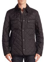 Barbour Snap Front Quilted Jacket