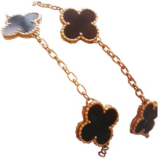 Van Cleef & Arpels Vintage Alhambra Gold Yellow gold Necklaces