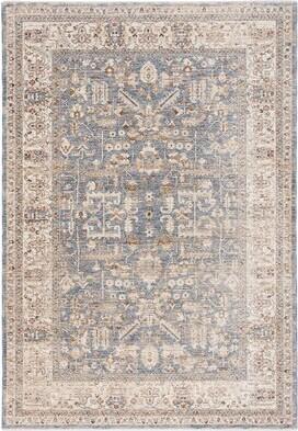 Lauren Ralph Lauren Sidney Oriental Light Blue/Ivory Area Rug Rug Size: Rectangle 4' x 6'