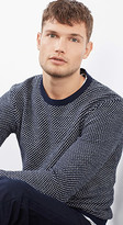 Esprit OUTLET two-tone wool blend sweater