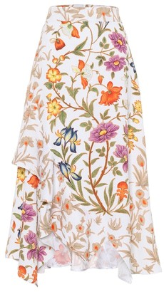 Peter Pilotto Floral-printed midi skirt
