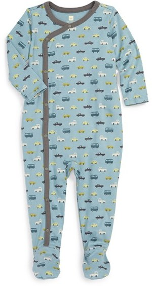 Tea Collection 'Autobahn' One-Piece (Baby Boys)