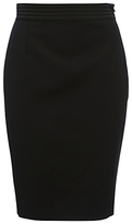 French Connection Glass Stretch Pencil Skirt, Black