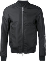 Emporio Armani - logo bomber jacket - men - Polyester - XL