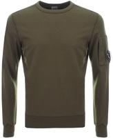 C.P. Company Crew Neck Goggle Sweatshirt Green