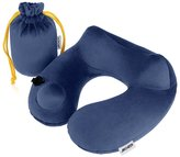 Travel Pillow, ARCHEER Inflatable Travel Pillow Push Button Inflation Neck Pillow Airplane Travel Pillow with Handy Carry Pouch for Camping, Cars, Buses, Trains, Home or Office