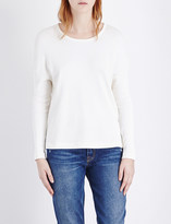 James Perse Round-neck jersey top