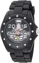 Game Time Men's NHL-BKA-PIT-CH16 Stanley Cup Champion 2016 Analog Display Japanese Quartz Black Watch