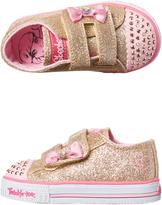 Skechers Tots Twinkle Toes Baby Shuffles Shoe