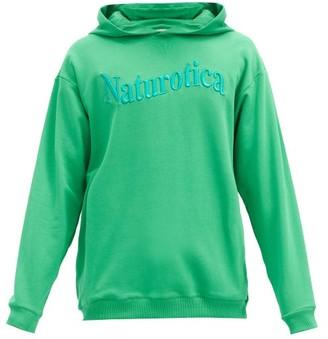 Christopher Kane Naturotica Cotton Hooded Sweatshirt - Green