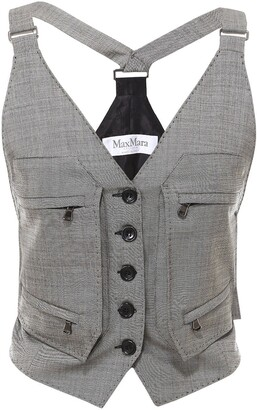 Max Mara Multi Pocket Gilet