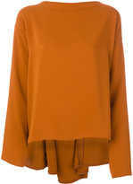 MM6 MAISON MARGIELA Fluid Sweater With Pearls Detail