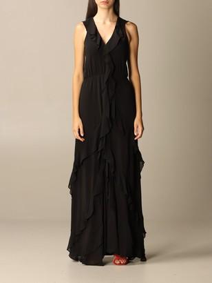 MICHAEL Michael Kors Jumpsuits Long Dress With Ruffles