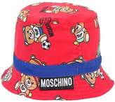 Moschino Printed Cotton Poplin Bucket Hat
