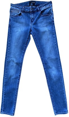 The Kooples Blue Cotton - elasthane Jeans for Women