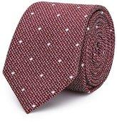 Reiss Kesher Polka Dot Silk Tie