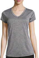 Xersion Short-Sleeve Melange Tee - Tall