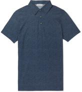 Richard James Printed Cotton-Jersey Polo Shirt
