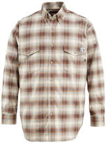 Wolverine FireZero by Long-Sleeve Flame-Resistant Plaid Shirt