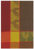 "Traders and Company 100% Cotton Green & Red 20""x28"" Dish Towel, Set of 6"