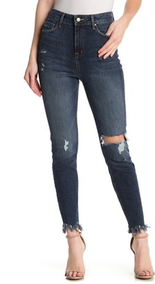 Fidelity Luna Ultra High Rise Skinny Ankle Cropped Jeans