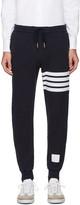 Thom Browne Navy Cropped Lounge Pants