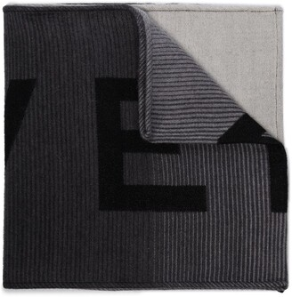 Givenchy Logo Knitted Scarf