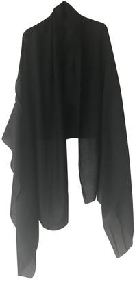 Hermes Black Cashmere Scarves