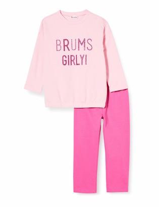 Brums Baby Girls' Tuta 2pz:girocollo+Pant.f.ina Logo C.t. Clothing Set