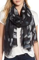 Nordstrom Women's Impressionist Dots Cashmere & Silk Scarf