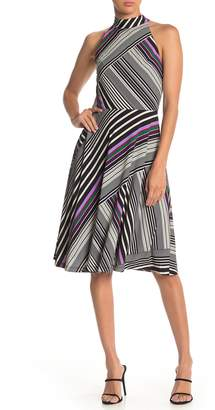 Trina Turk Gaiety Stripe Printed Sleeveless Dress